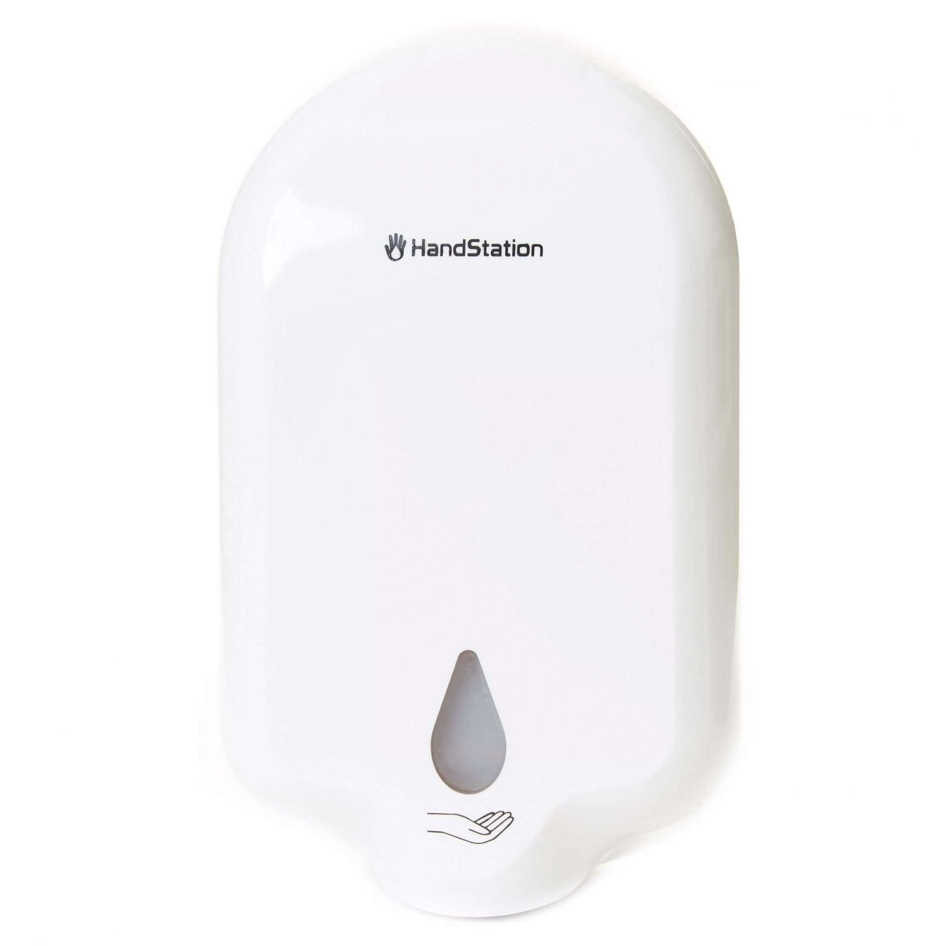 HandStation Eco Wall Mounted Automatic Touch Free Hand Sanitiser System – Liquid Dispenser