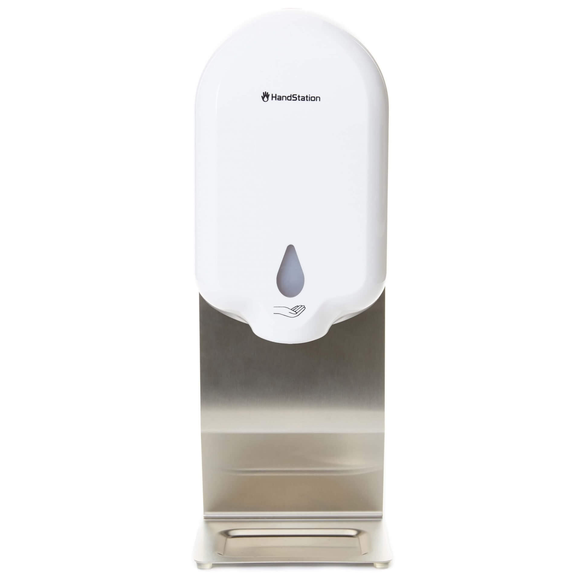 HandStation Eco Desktop Automatic Touch Free Hand Sanitiser System – Liquid Spray Dispenser