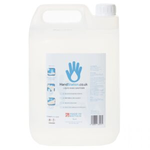 4x 5L Hand Sanitiser 80% Alcohol Liquid Spray Dispenser Refill (20 Litre Bulk Deal)