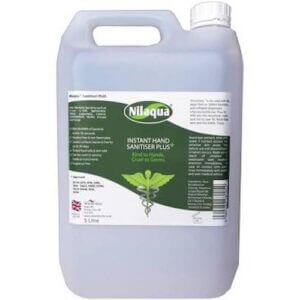Nilaqua 5L Alcohol Free Hand Sanitiser Plus Refill