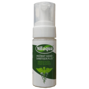 Nilaqua 55ml Alcohol Free Foam Hand Sanitiser – Pocket Size