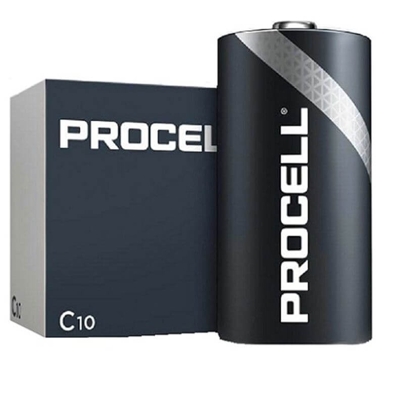 Procell C Cell Batteries Box of 10