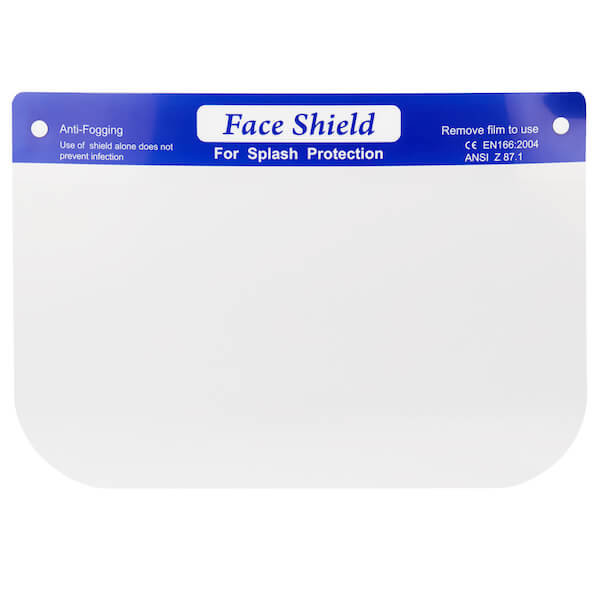 Face Shields – Splash Protection