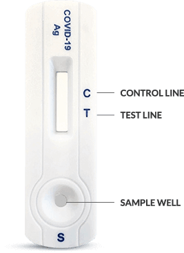 covid 19 test result