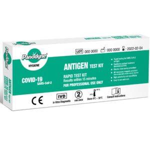 Panodyne Covid-19 Rapid Antigen Test Kit (BOX OF 24 TESTS)
