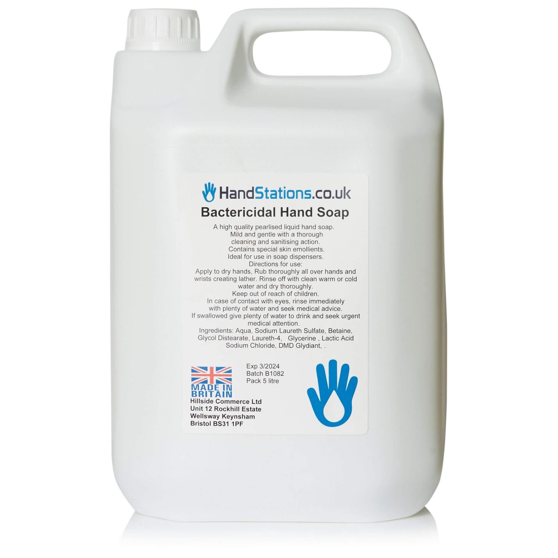 AntiBac Bactericidal Liquid Hand Soap 5 Litre Dispenser Refill