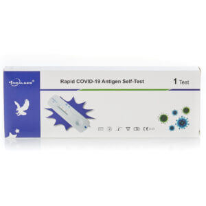 Healgen Covid-19 Lateral Flow Rapid Antigen Self-Test Home Kits Individually Packed